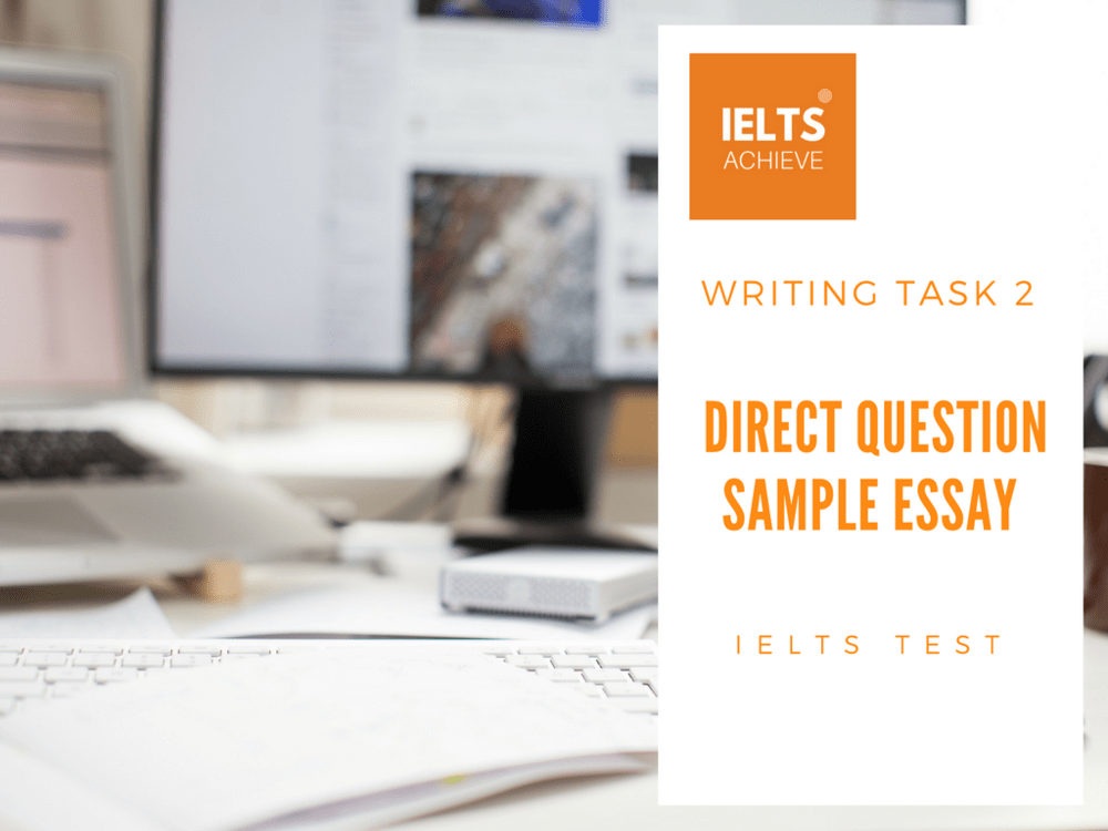 IELTS Direct Question Essay Model Answer: Family and Children