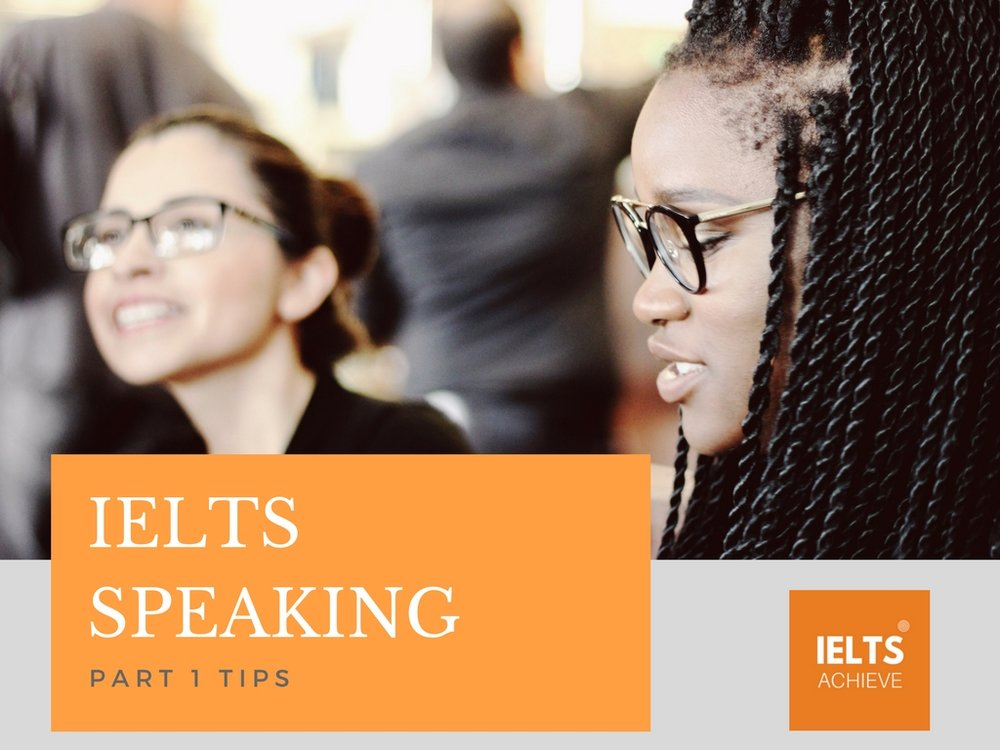 IELTS speaking tips for success