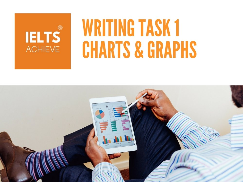 IELTS writing task 1 academic charts and graphs
