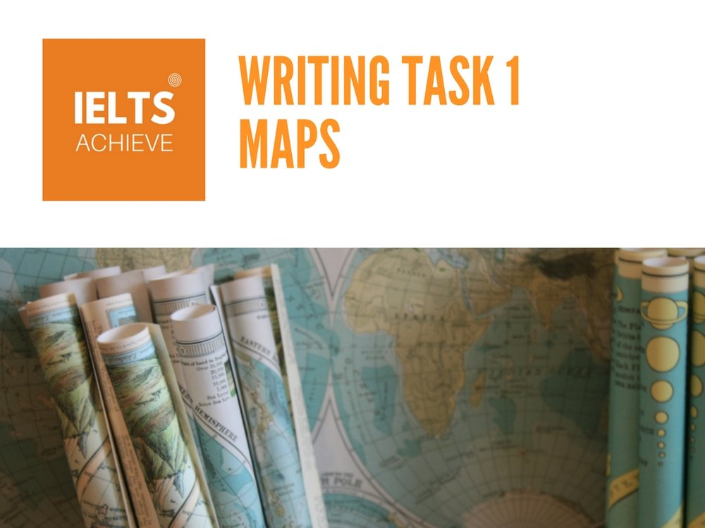 IELTS writing task 1 academic maps questions