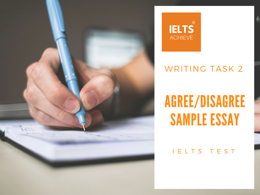 IELTS writing task 2: Agree/Disagree Essay- Government