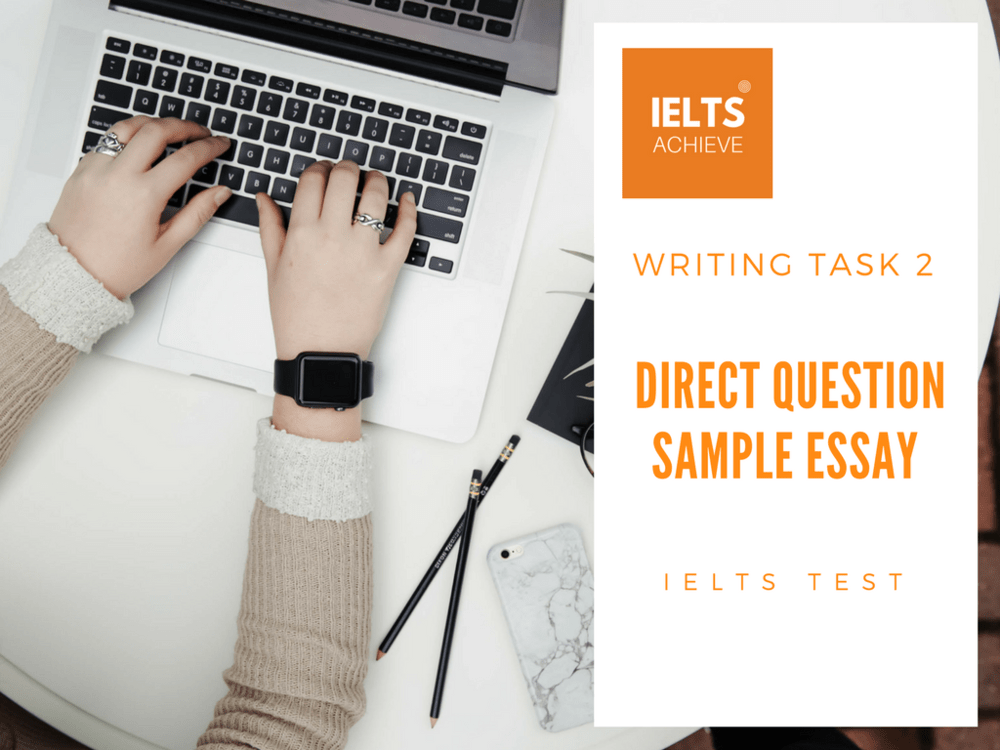 IELTS Direct Question Essay Model Answer: Education and Teaching