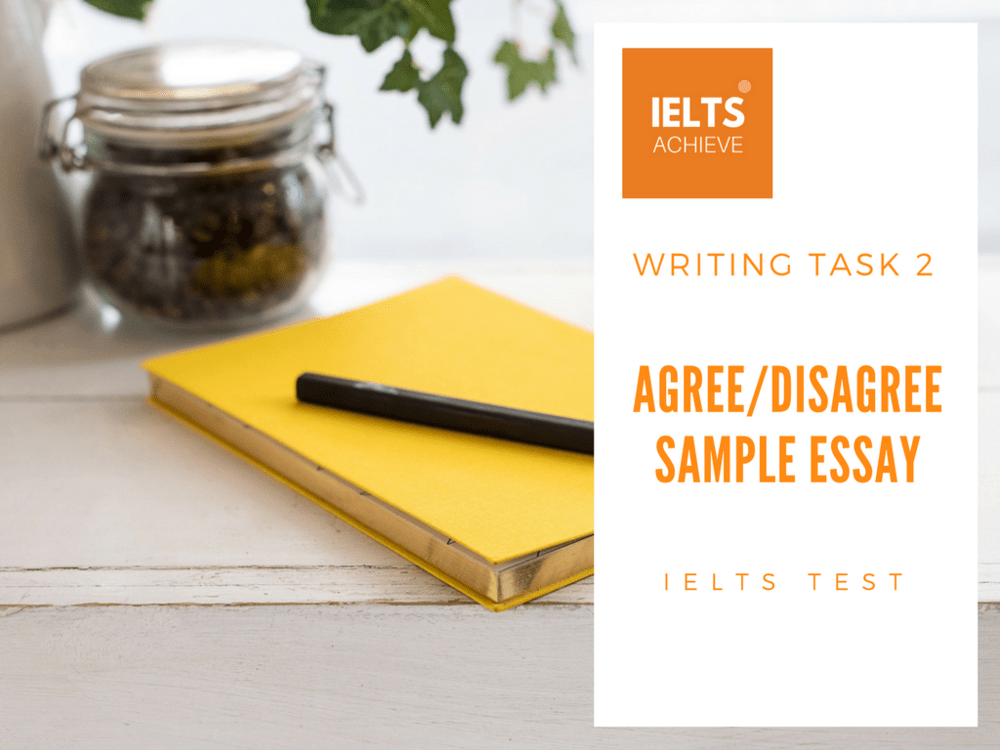 IELTS Agree/Disagree Essay Government