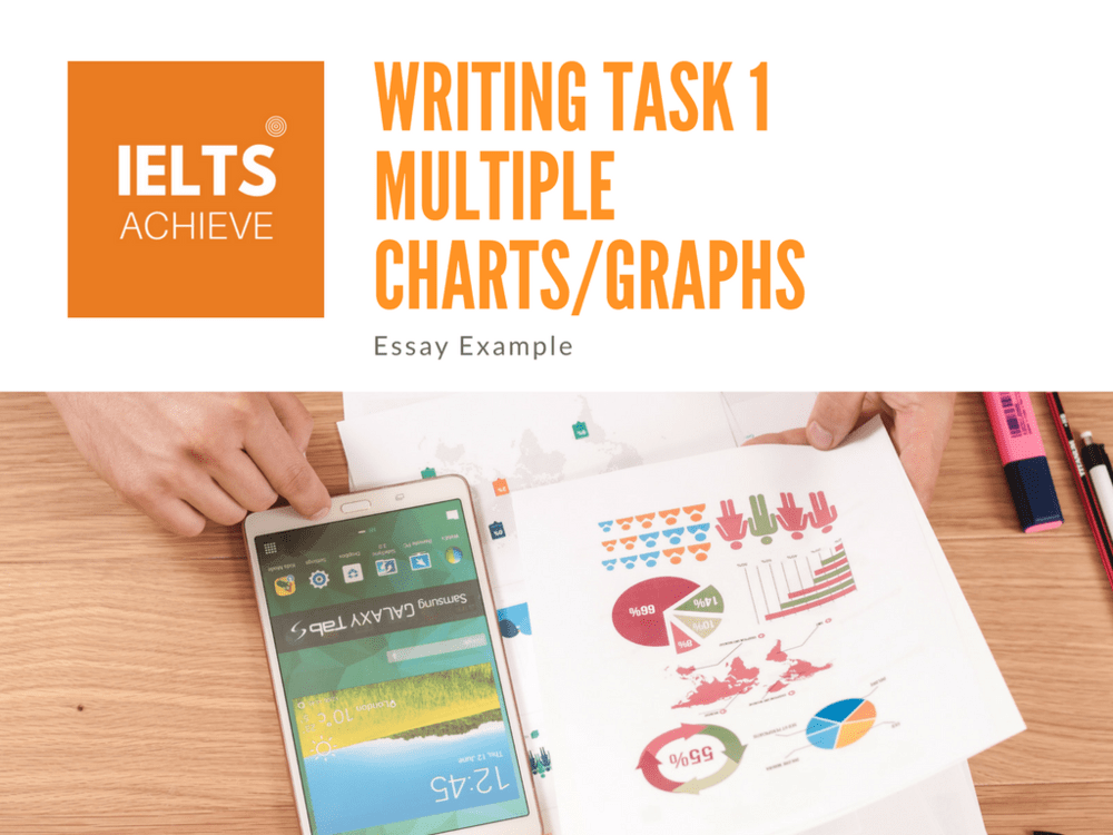 IELTS Writing Task 1 - Multiple Charts Essay