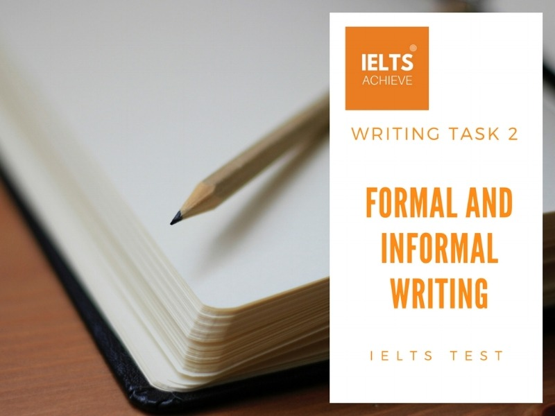 Formal And Informal Writing