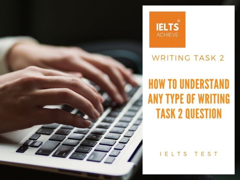 how to understand any type of IELTS writing task 2 question